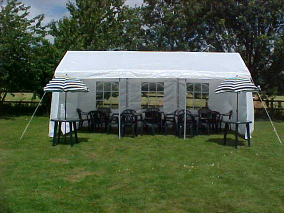 13ft x 20ft Marquee - R Marquee Hire - R Leisure Hire Ltd - 01524 733540 - Marquee Hire Preston, Lancaster, Kendal, Windemere, Cumbria, Lancashire, Cheshire, Merseyside, Manchester, Yorkshire,